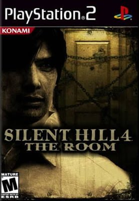 Capa-Silent Hill 4 The Room 2004 PS2 PTBR