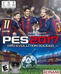 Capa Pro Evolution Soccer 2017 PES 2017 PS3