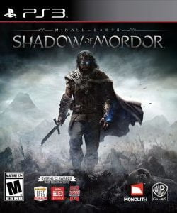 Capa Middle Earth Shadow of Mordor (2014) PS3