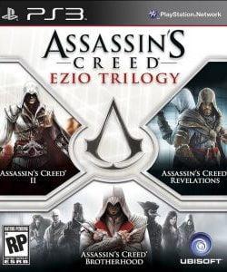Capa Assassin's Creed Ezio Trilogy PS3