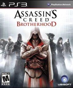 Capa Assassins Creed Brotherhood PS3