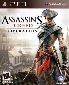 Capa Assassins Creed Liberation HD PS3