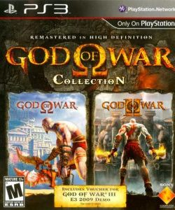 Capa God Of War Collection (2009) PS3