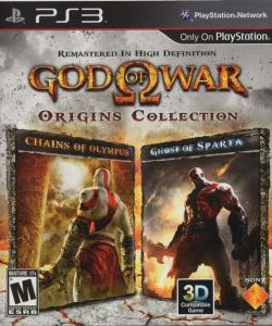 Capa God Of War Collection (2011) PS3
