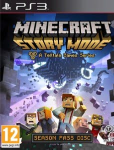 Capa Minecraft Story Mode Episode 1-5 PS3 2015