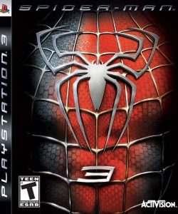 Capa Spider-Man 3 PS3 Homem Aranha 3