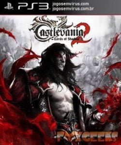 Capa Castlevania Lords of Shadow 2 PS3 Pt-br