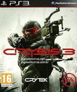 Crysis 3 PS3 Pt-Br site jogos em vírus