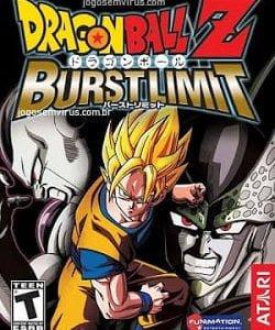 Capa Dragon Ball Z Burst Limit PS3