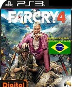 Capa Far Cry 4 PS3 PtBr FC4 Playstation 3