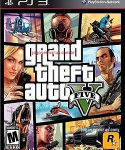 Capa Grand Theft Auto V PS3 GTA Playstation 3