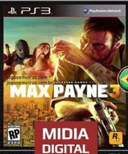 Capa Max Payne 3 Playstation 3 PS3
