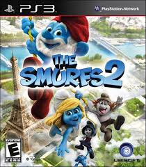 Capa THE-SMURFS-2 PS3 Playstation 3
