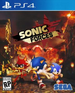 Capa sonic forces ps4