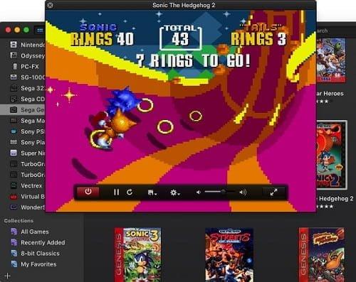 Jogando no OpenEmu Multi-Emulador para Mac Os