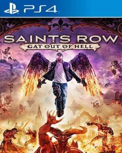 Saints Row Gat Out of Hell PS4 (2015)