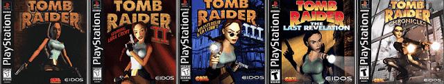 5 jogos clássicos Tomb raider PS1
