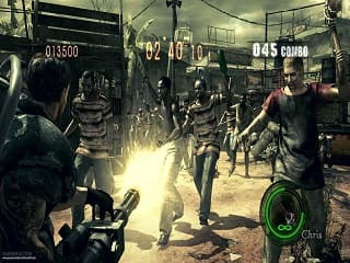 Imagem do jogoResident Evil 5 XBOX 360 (2009)