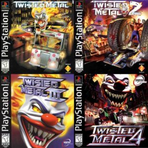 twisted metal collection 4 em 1 ps1 ps2