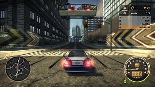 Imagem do jogo NFSMW REDUX Sem Textura (2005)